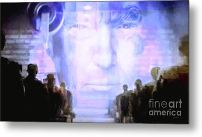 Metal Print featuring the photograph Donald Trump 1984 by Wingsdomain Art and Photography