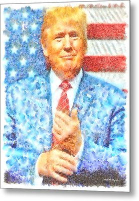 Donald Trump - Pa Metal Print