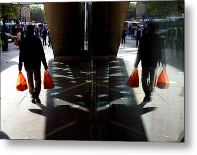 Done The Shopping Metal Print by Jez C Self