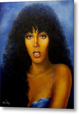 Donna Summers Metal Print by Loxi Sibley