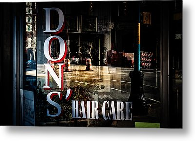 Don's Reflections  Metal Print by Phillip Burrow