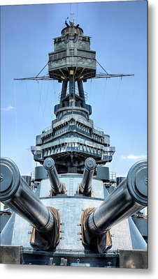 Don't Mess With Texas Metal Print by JC Findley