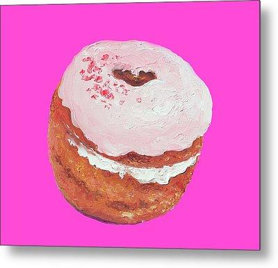 Donut Painting Metal Print