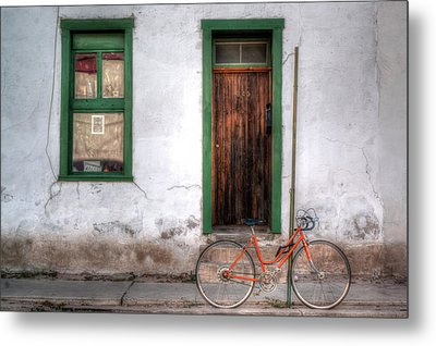 Metal Print featuring the photograph Door 345 by Lynn Geoffroy