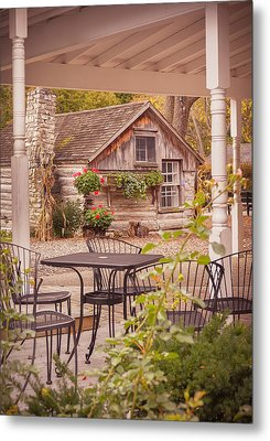 Metal Print featuring the photograph Door County Thorp Cottage by Heidi Hermes