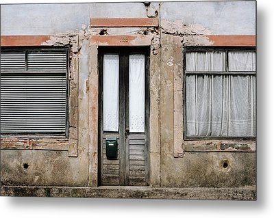 Metal Print featuring the photograph Door No 128 by Marco Oliveira