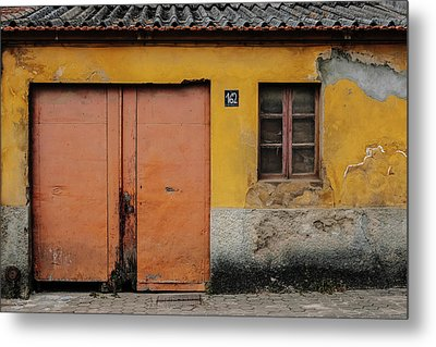 Metal Print featuring the photograph Door No 162 by Marco Oliveira
