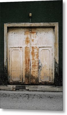 Metal Print featuring the photograph Door No 163 by Marco Oliveira