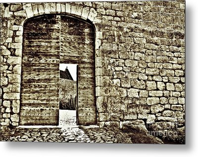Door To Salvation Metal Print