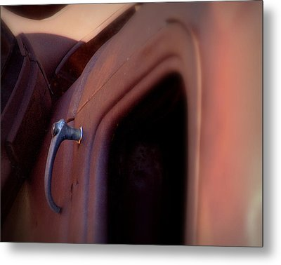 Metal Print featuring the photograph Doorhandle Nostalgia.. by Al Swasey