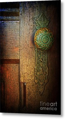 Doorknob Metal Print