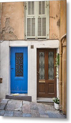 Doors And Window Metal Print