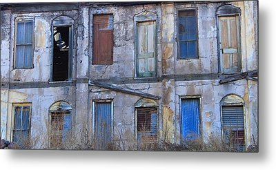 Doors And Windows Metal Print