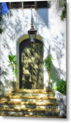 Metal Print featuring the photograph Doors Of The Florida Panhandle by Mel Steinhauer