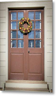 Doors Of Williamsburg 81 Metal Print