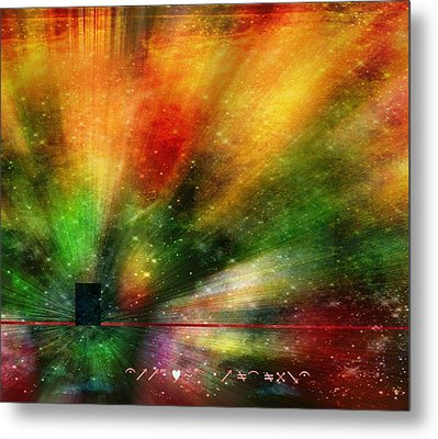 Metal Print featuring the photograph Doorway To My Mind by Diane Alexander
