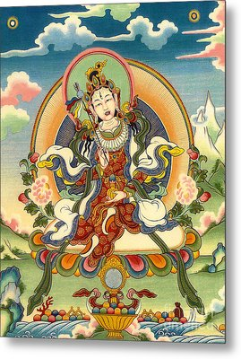 Dorje Yudronma Metal Print