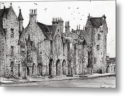 Dornoch Metal Print by Vincent Alexander Booth