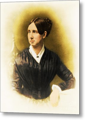 Dorothea Dix, American Reformer Metal Print by Photo Researchers