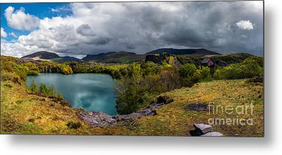 Dorothea Quarry Panorama Metal Print by Adrian Evans