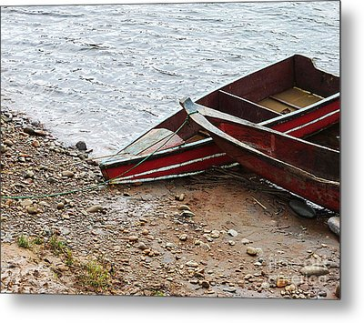 Dos Barcos Metal Print by Kathy McClure