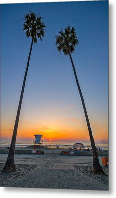 Dos Palms Metal Print by Peter Tellone