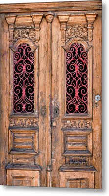 Double Door Metal Print by Carlos Caetano