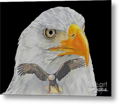 Double Eagle Metal Print by Bill Richards