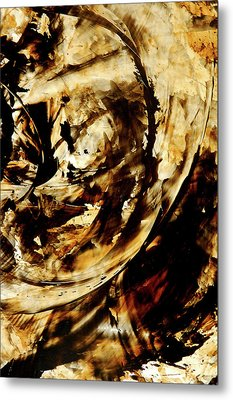 Double Espresso Metal Print by Sharon Cummings
