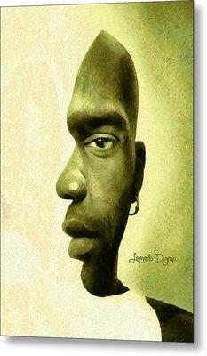 Double Face Metal Print by Leonardo Digenio