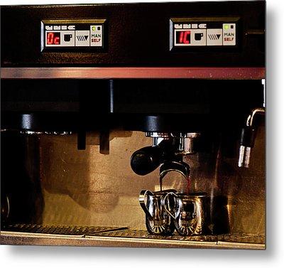 Double Shot Of Espresso Metal Print