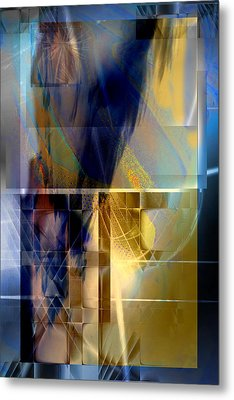 Double Structure Metal Print