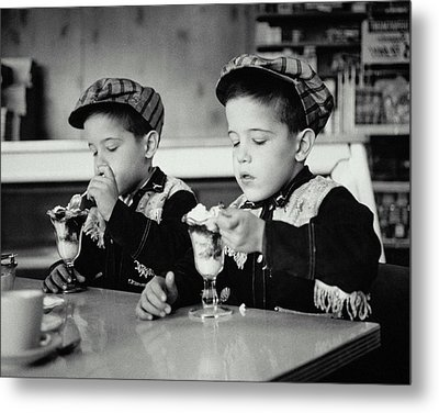 Double Sundae Metal Print by Archive Holdings Inc.