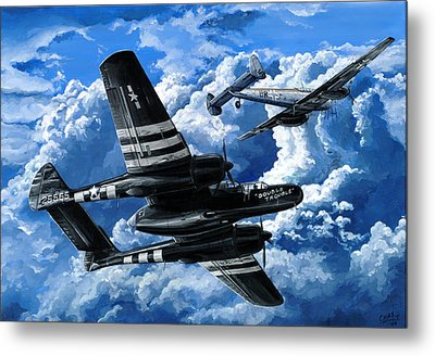 Double Trouble Metal Print by Charles Taylor