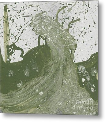 Double Up Wave Metal Print by Talisa Hartley