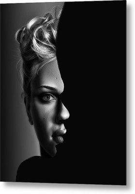 Double Vision Metal Print by Digital Art Cafe