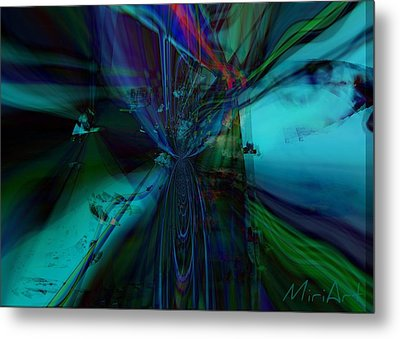Double Vision Metal Print by Miriam Shaw