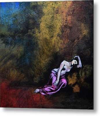 Melpomene Was The Muse Of Tragedy. Metal Print