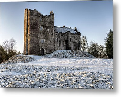 Doune Castle In Central Scotland Metal Print by Jeremy Lavender Photography