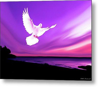 Dove Of My Dreams Metal Print by Eddie Eastwood