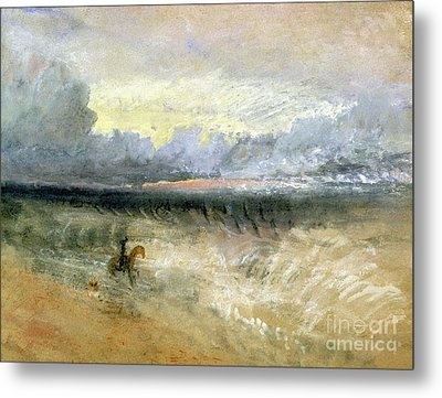 Dover  Metal Print by Joseph Mallord William Turner