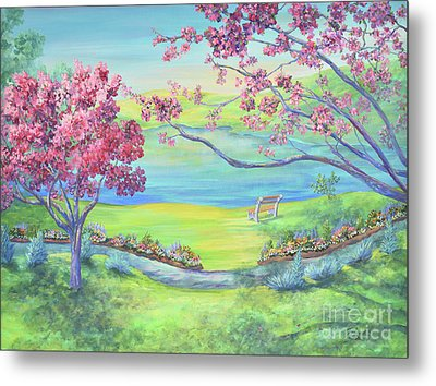 Down By The Bay Metal Print by Malanda Warner