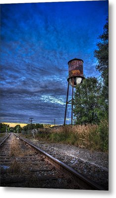 Down By The Tracks Metal Print by Marvin Spates