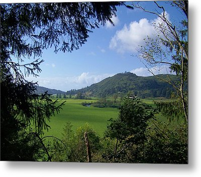 Metal Print featuring the photograph Down In The Valley by Angi Parks