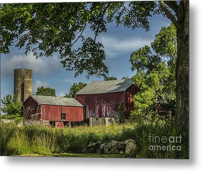 Down On The Farm Metal Print by JRP Photography