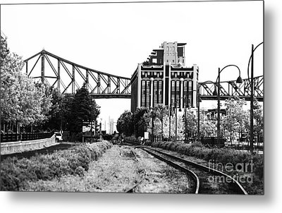 Down The Tracks Metal Print by John Rizzuto