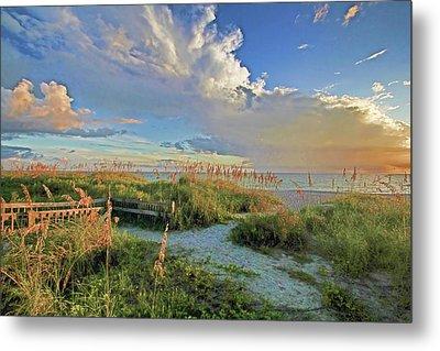 Down To The Beach 2 - Florida Beaches Metal Print