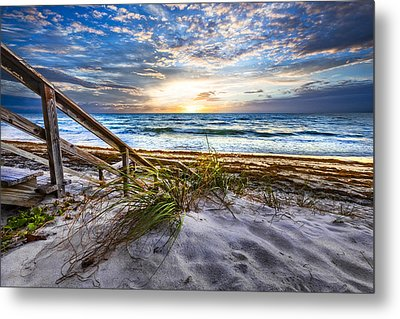 Down To The Shore Metal Print