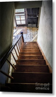 Downstairs Metal Print by Scott Thorp