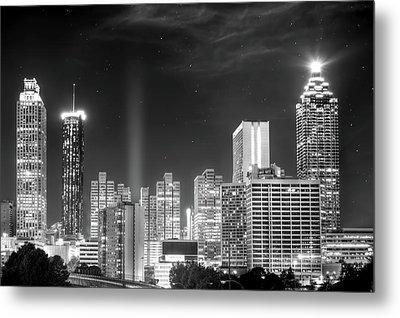 Downtown Atlanta Skyline Metal Print